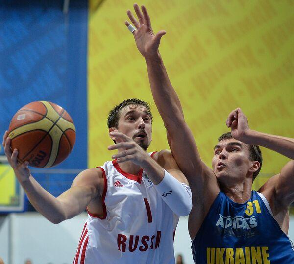 Баскетбол. Товарищеский матч. Сборная России - Сборная Украины