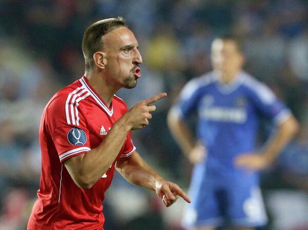 Игровой момент матча Бавария - Челси