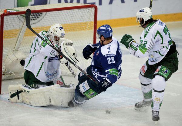 Хоккей. КХЛ. Матч Динамо (Москва) - Салават Юлаев