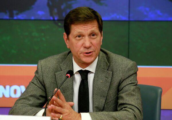 Президент Олимпийского комитета России (ОКР), первый заместитель председателя Государственной Думы Российской Федерации Александр Жуков