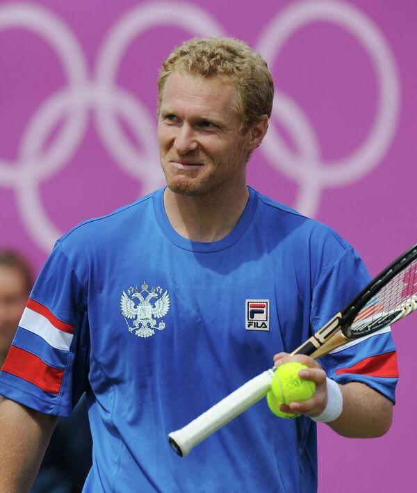 Российский теннисист Дмитрий Турсунов