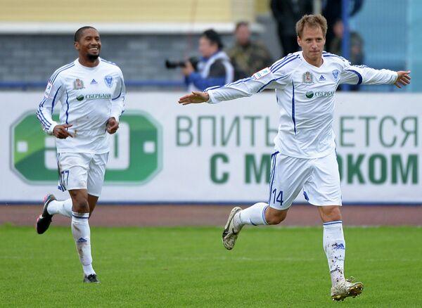 Антон Путило (справа) и Леандро