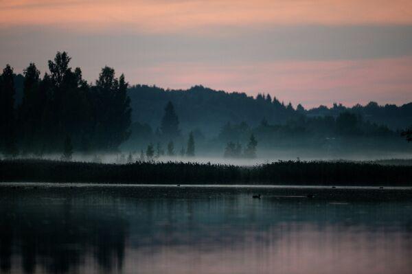 Городищенское озеро в Старом Изборске