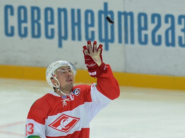 Хоккеист Спартака Денис Бодров