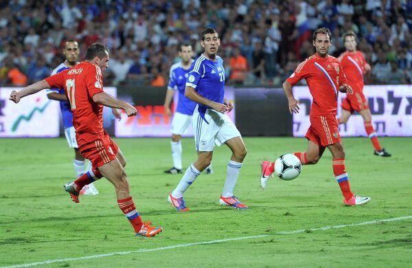 Футбол. Сборная Израиля - Сборная России