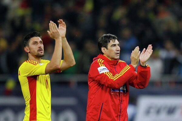 Чиприан Марика (слева)