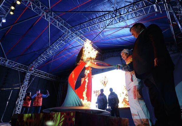 Эстафета Олимпийского огня. Ивановская область