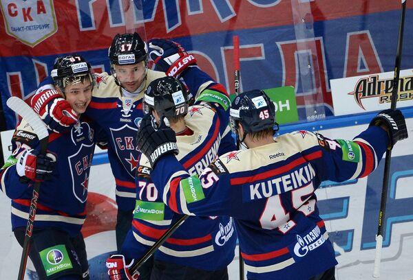 Вадим Шипачев, Илья Ковальчук, Роман Червенка и Андрей Кутейкин (слева направо)