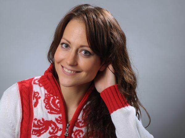 Российская керлингистка Екатерина Галкина