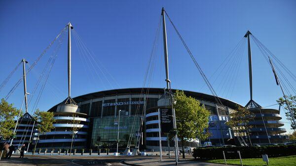 Стадион футбольного клуба Манчестер Сити Этихад Стэдиум (Etihad Stadium) в Манчестере