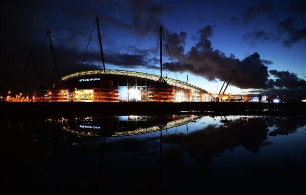 Стадион Etihad Stadium в Манчестере