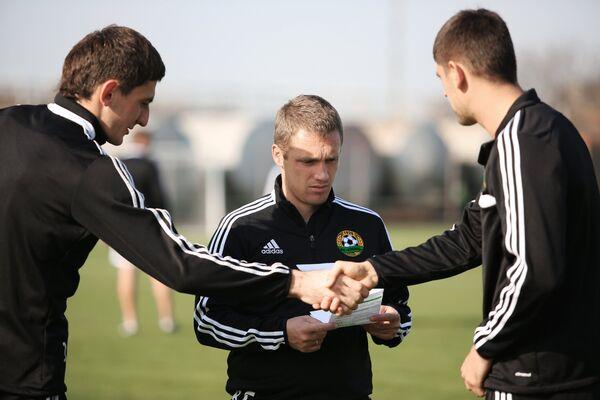 Тренировка ФК Кубань