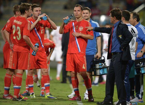 Футбол Товарищеский матч. Россия - Сербия