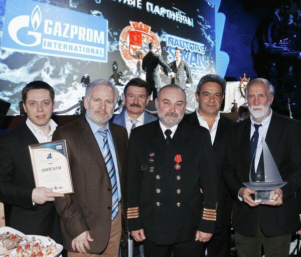 Церемония награждения национальной премией Яхтсмен года 2012