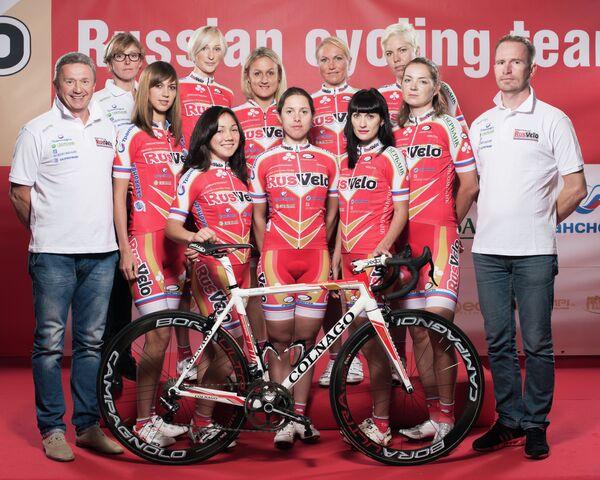 В Италии состоялась презентация команды Русвело на новый сезон 2014 года.