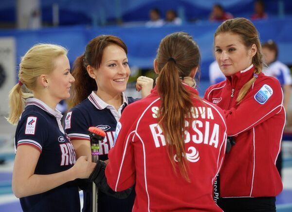 Александра Саитова, Екатерина Галкина, Анна Сидорова и Маргарита Фомина (слева направо)