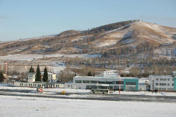 Пассажирский терминал аэропорта Горно-Алтайск