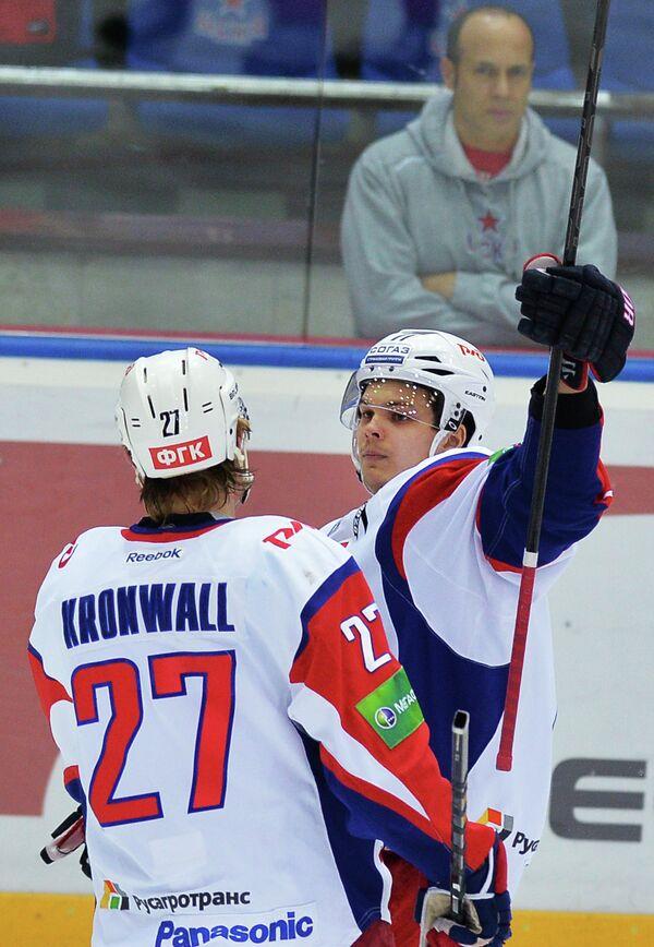 Стаффан Кронвалль (слева) и Вадим Хлопотов