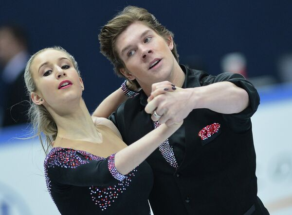 Россияне Анна Яновская и Сергей Мозгов