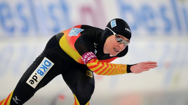 Конькобежный спорт. Клаудиа Пехштайн.