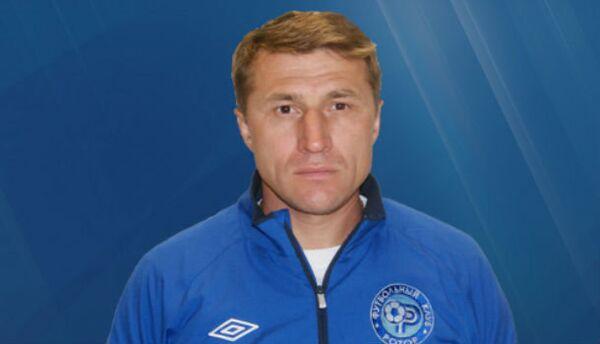 Старший тренер Ротора Олег Веретенников