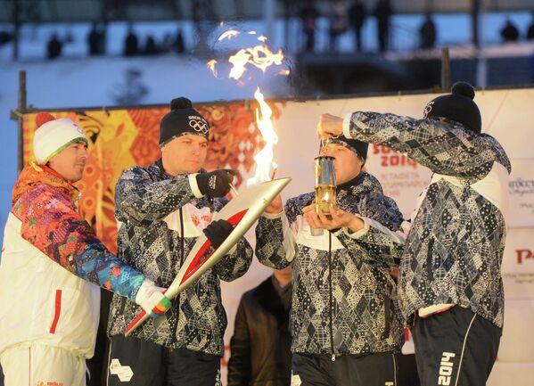 Эстафета Олимпийского огня. Уфа. День 1