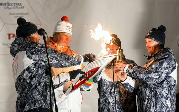 Эстафета олимпийского огня. Уфа. День 2