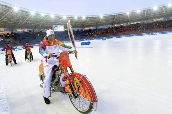 Мастер спорта международного класса по спидвею Даниил Иванов