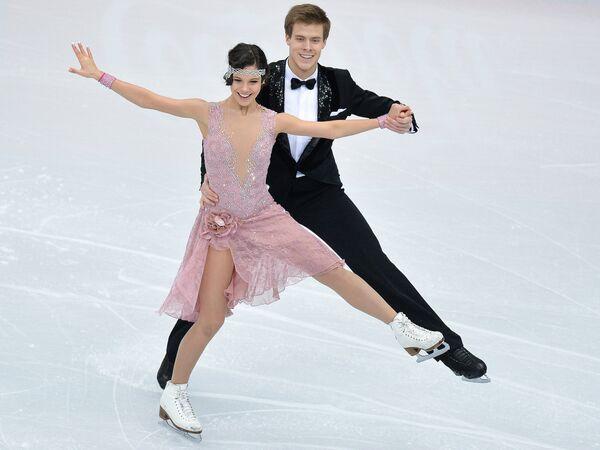 Елена Ильиных и Никита Кацалапов Танцы на льду. Короткая программа