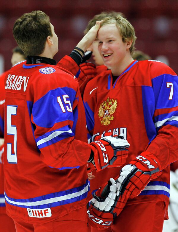 Георгий Бусаров (слева) и Кирилл Маслов