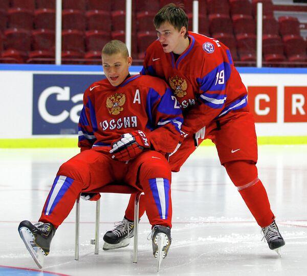 Андрей Миронов (слева) и Павел Бучневич