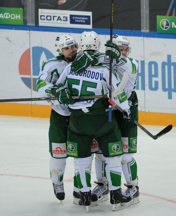 Хоккеисты Салават Юлаева