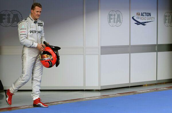 Семикратный чемпион мира в Формуле-1 Михаэль Шумахер