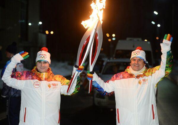 Эстафета Олимпийского огня. Республика Татарстан