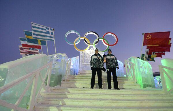 Эстафета Олимпийского огня. Кунгур