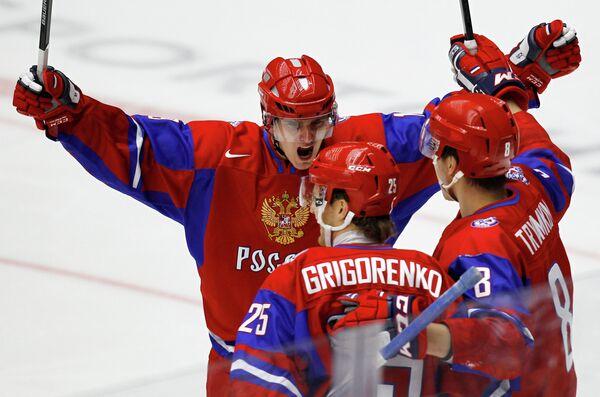 Павел Бучневич, Михаил Григоренко и Никита Трямкин