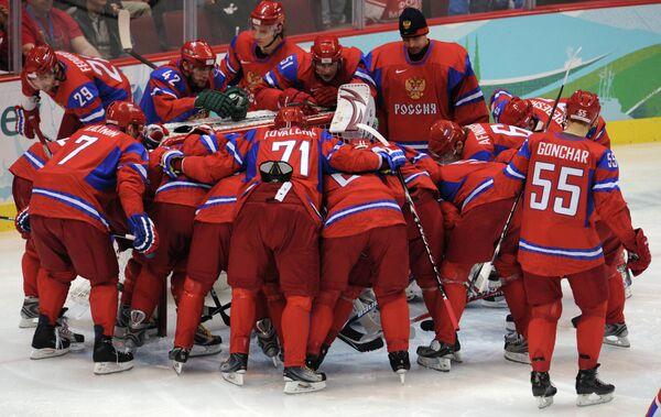 Российские хоккеисты на зимних Олимпийских играх 2010 года