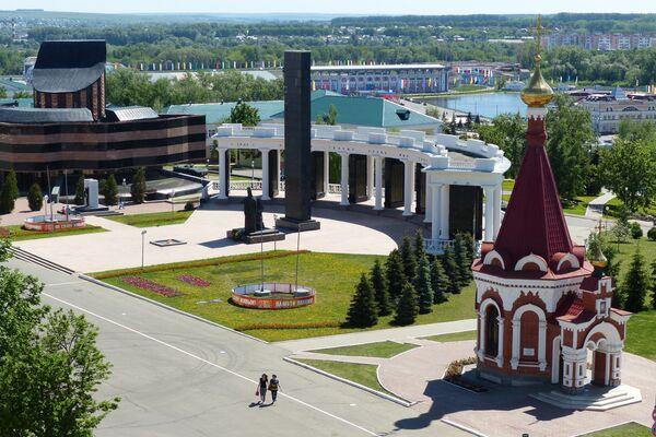 Города России. Саранск