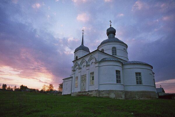 Храм пророка Самуила в районе г. Задонска