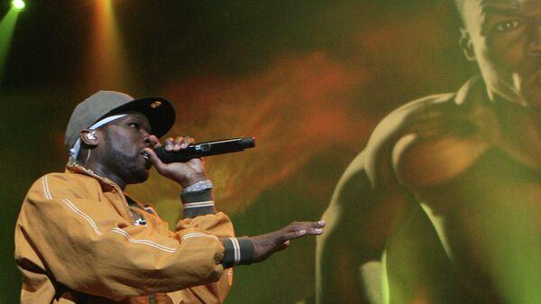 Рэп-исполнитель 50 Cent