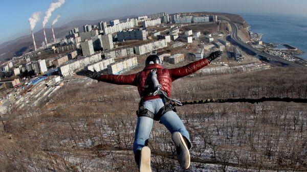 Акция День RopeJumping во Владивостоке