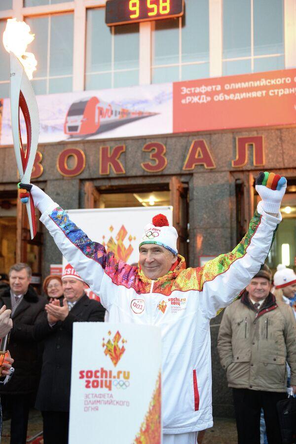 Олимпийский чемпион 1976 года по велоспорту, заслуженный мастер спорта СССР и заслуженный тренер СССР Валерий Чаплыгин