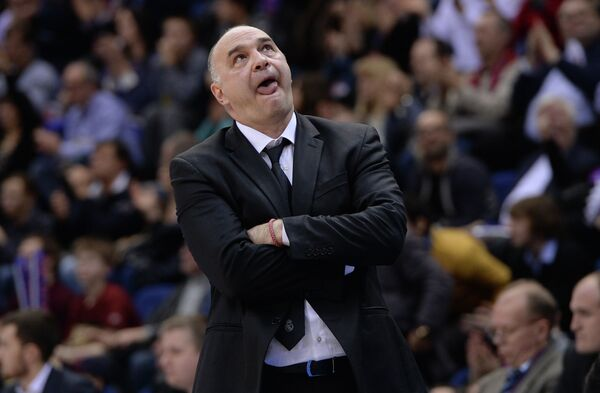 Главный тренер БК Реал Мадрид Пабло Ласо