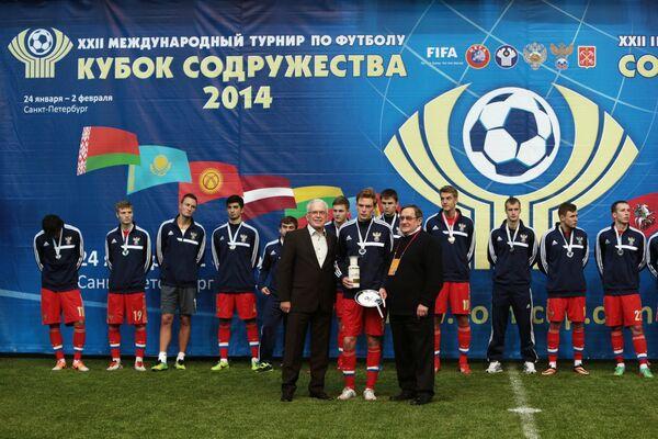 Футболисты сборной команды России