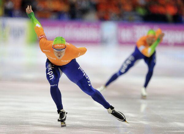 Голландский спортсмен Штефан Гротхайс