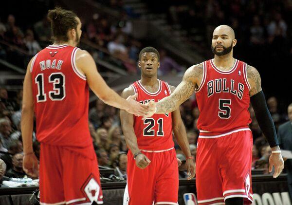 Баскетболисты Чикаго