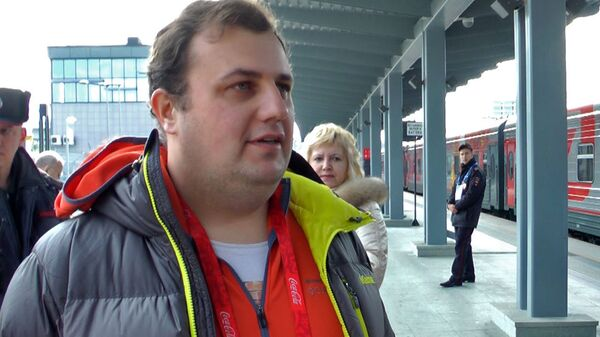 Сотрудник РИА Новости рассказал, как провел 120 дней с эстафетой огня ОИ