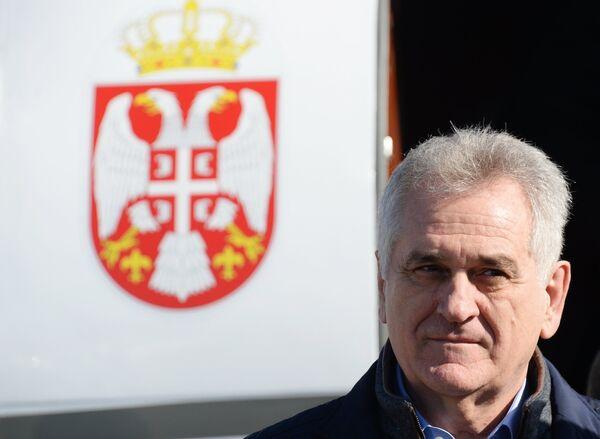 Президент Сербии Томислав Николич