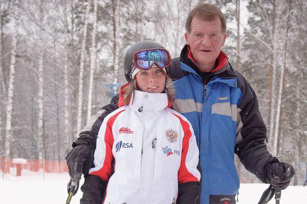 Анна Миртова и Андрей Столяров