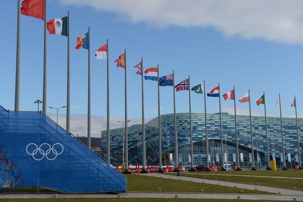 Дворец зимнего спорта Айсберг в Олимпийском парке Сочи